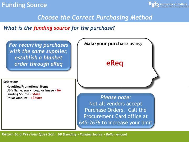 Funding Source