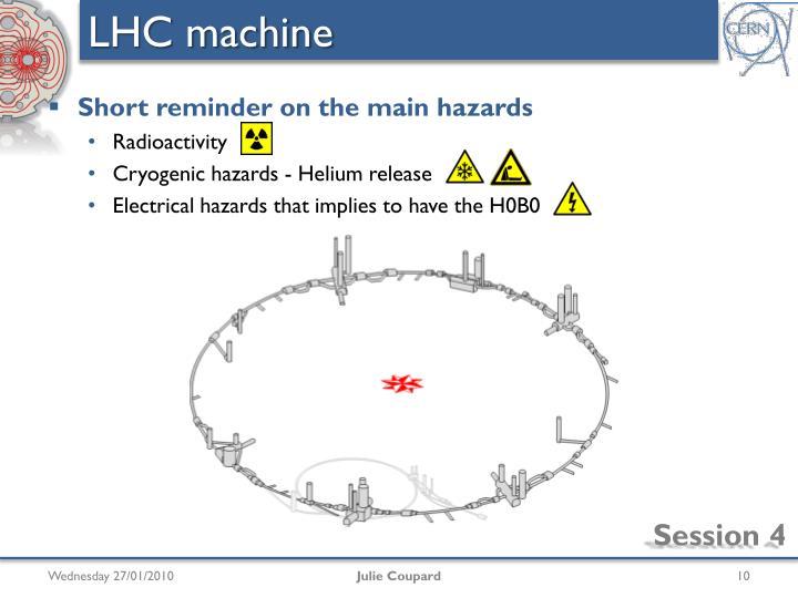LHC machine