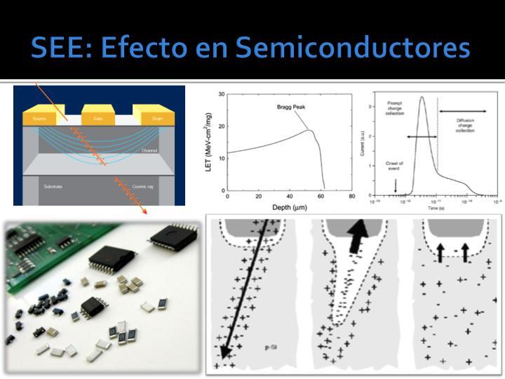 SEE: Efecto en Semiconductores