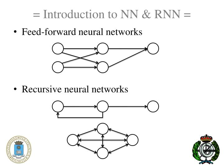 = Introduction to NN & RNN =