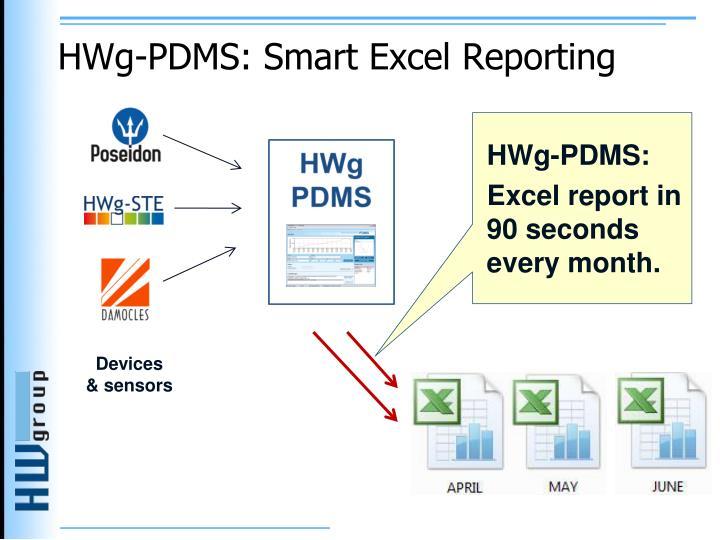 HWg-PDMS: Smart Excel