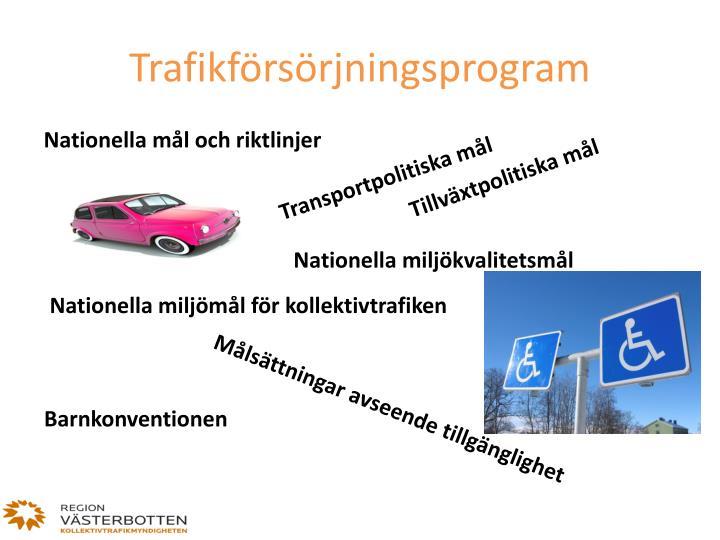 Trafikförsörjningsprogram