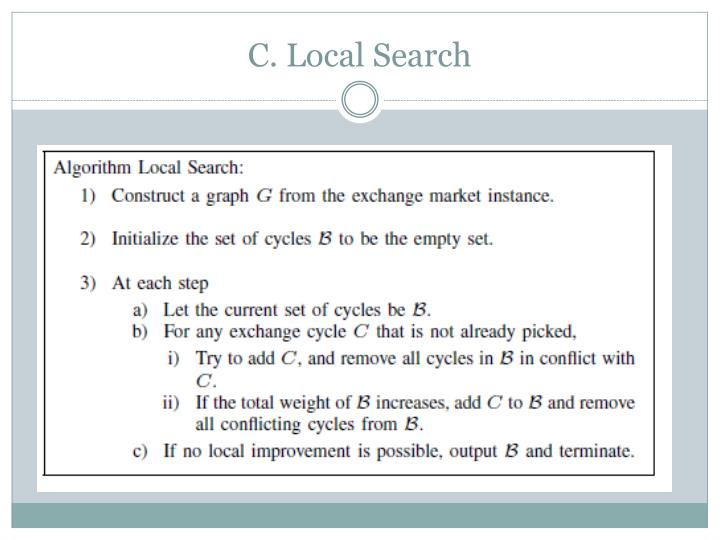 C. Local Search