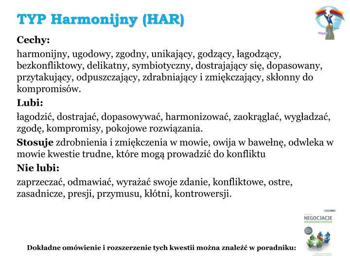 TYP Harmonijny (HAR)