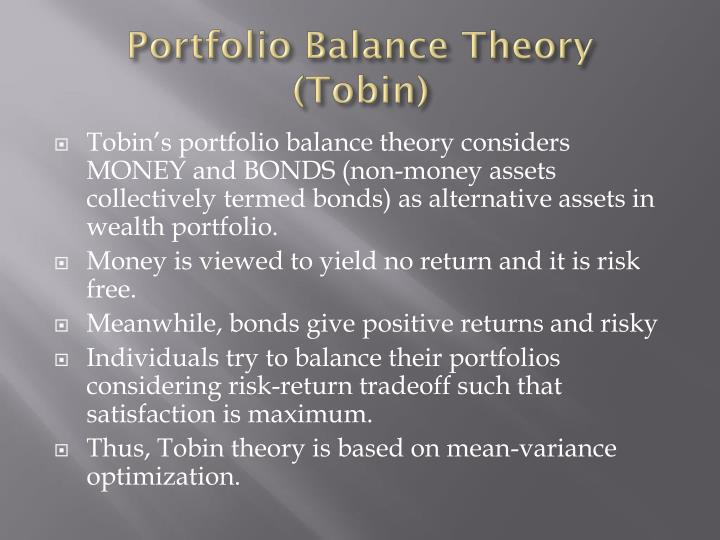 Portfolio Balance Theory