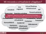 mi micsoda a virtualiz ci vil g ban