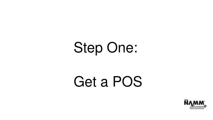 Step One: