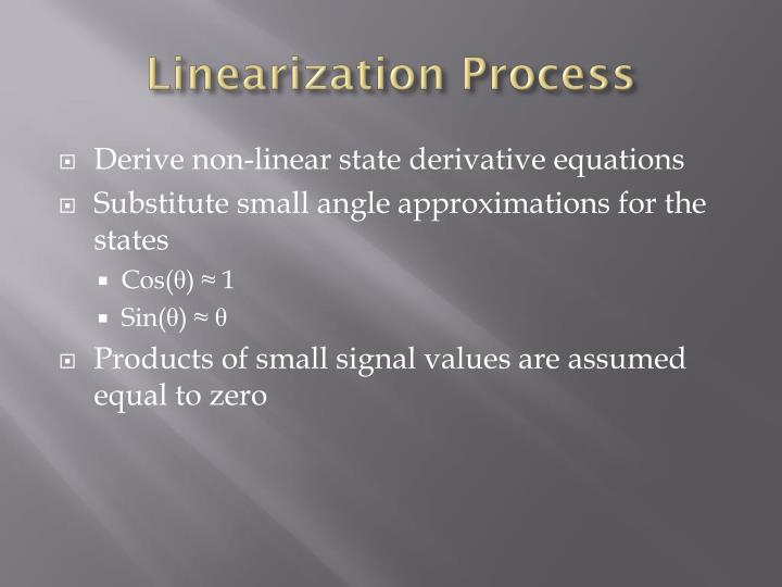 Linearization Process