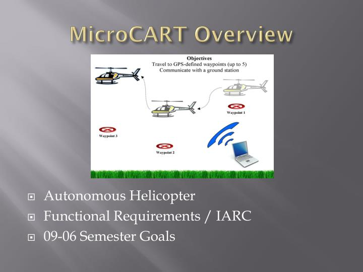 Microcart overview