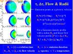 flow radii