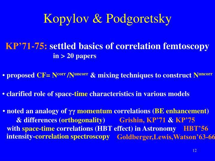 Kopylov & Podgoretsky
