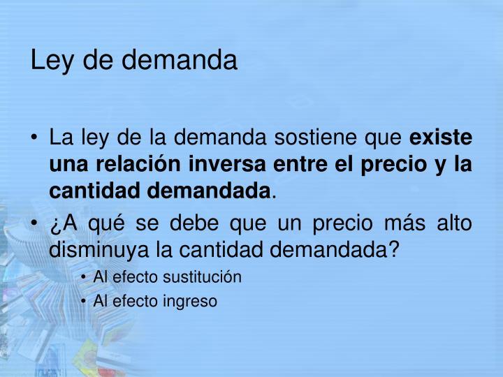 Ley de