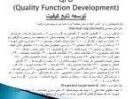 qfd quality function development