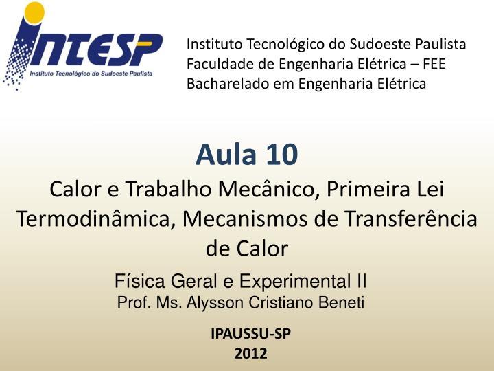 Instituto Tecnolgico do Sudoeste Paulista