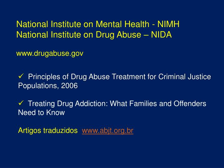National Institute on Mental Health - NIMH