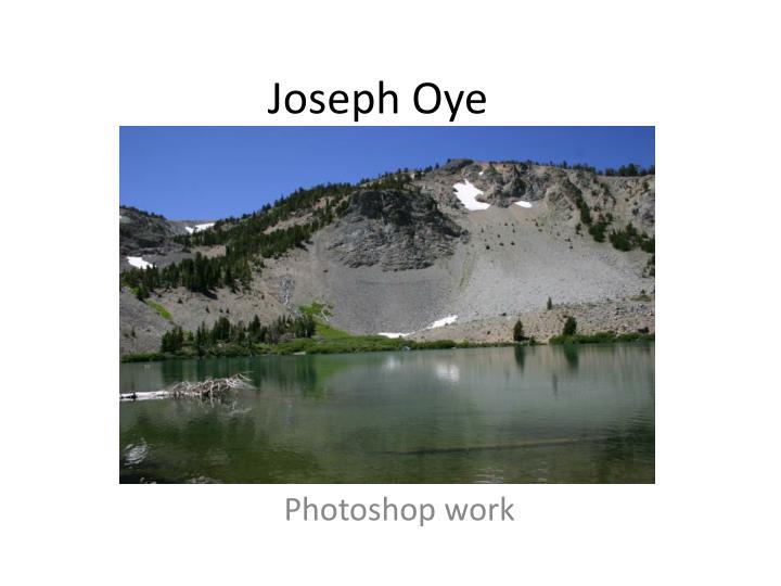Joseph Oye
