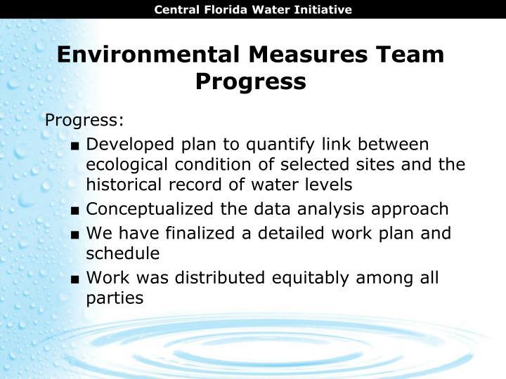 Environmental Measures Team