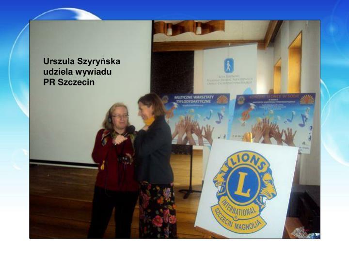 Urszula Szyryńska