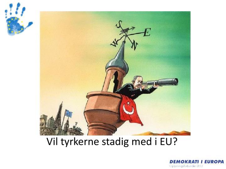 Vil tyrkerne stadig med i EU?