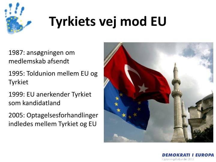 Tyrkiets vej mod EU