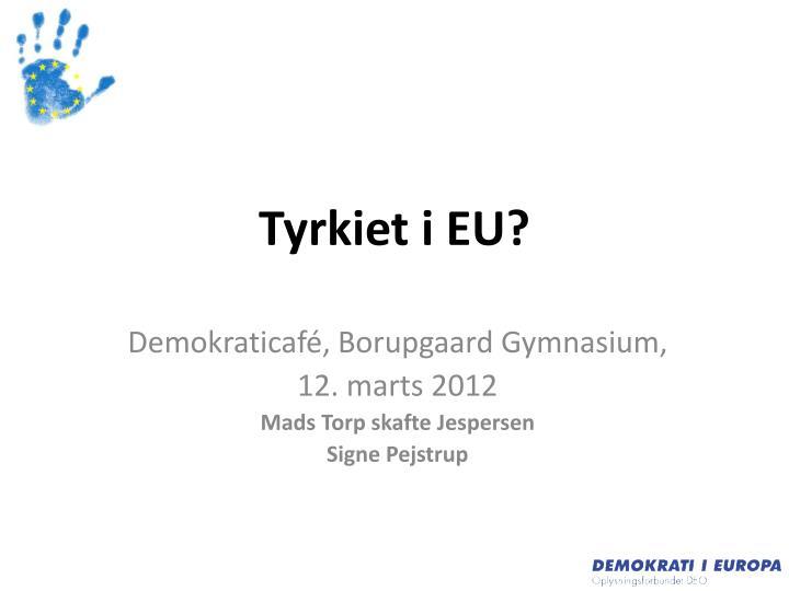Tyrkiet i EU?