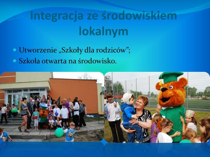 Integracja ze środowiskiem lokalnym