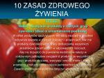 10 zasad zdrowego ywienia