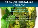 10 zasad zdrowego ywienia1
