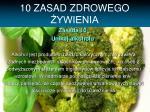 10 zasad zdrowego ywienia9