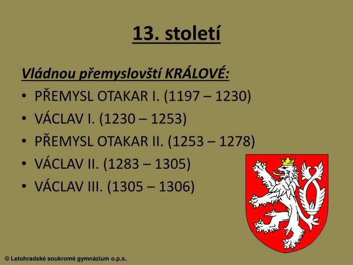 13. století