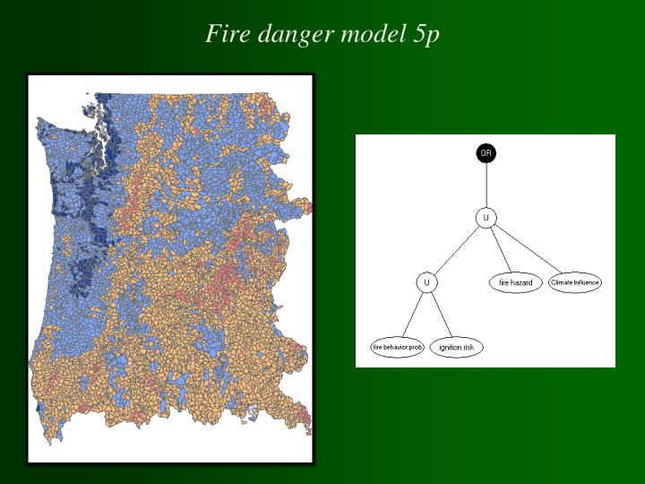 Fire danger model 5p