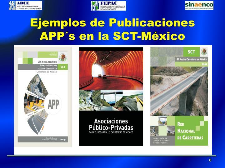 Ejemplos de Publicaciones