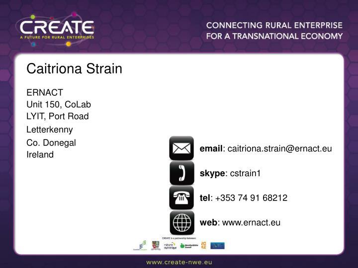 Caitriona Strain