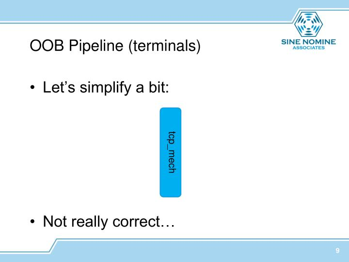 OOB Pipeline (terminals)
