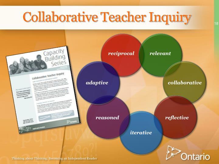 Collaborative Teacher Inquiry