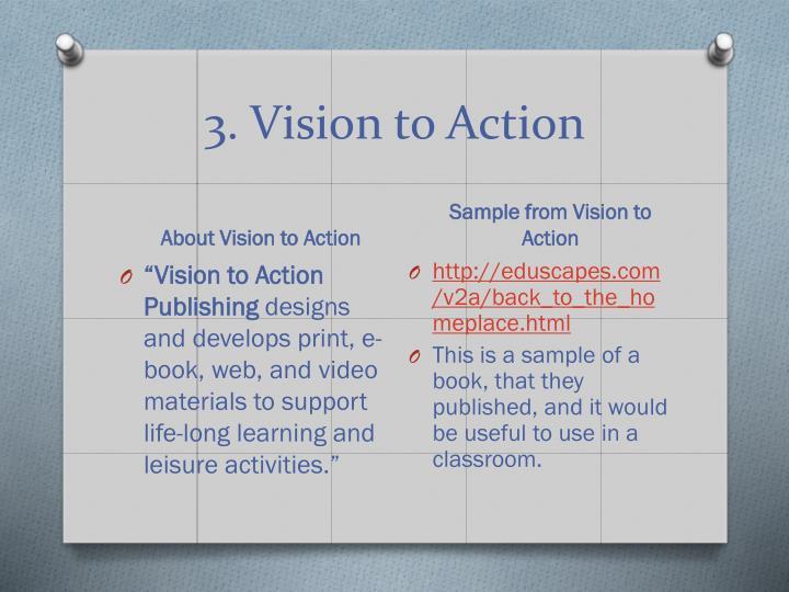 3. Vision