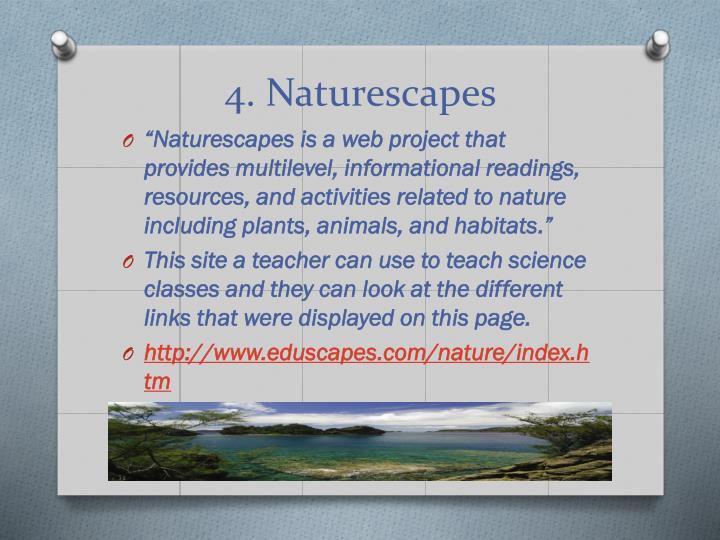 4. Naturescapes