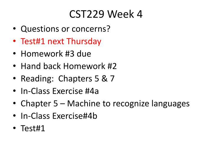 CST229 Week