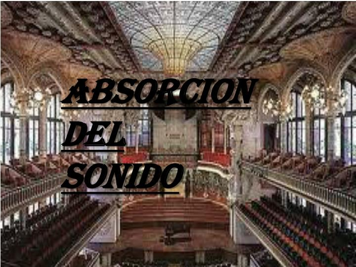 ABSORCION DEL