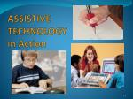 assistive technology in action