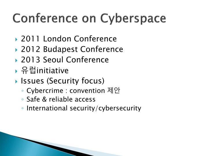 Conference on Cyberspace