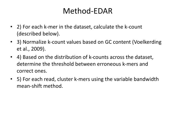 Method-EDAR
