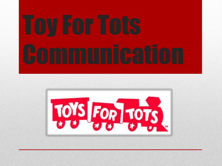 Toys For Tots Border : Ppt toy for tots communication powerpoint presentation
