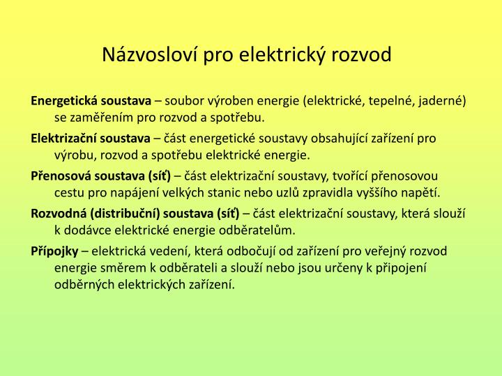 Energetická soustava