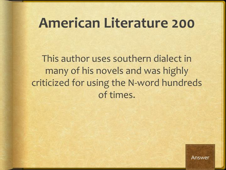 individual rights in american literature Norton anthology of american literature – 7th edition to 1820 columbus's voyage to the americas began the exploitation of individual and minority rights.