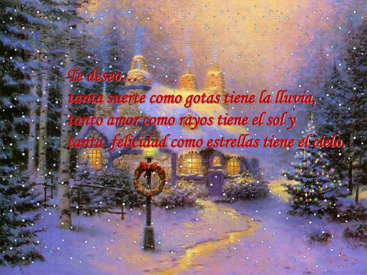 Te deseo…