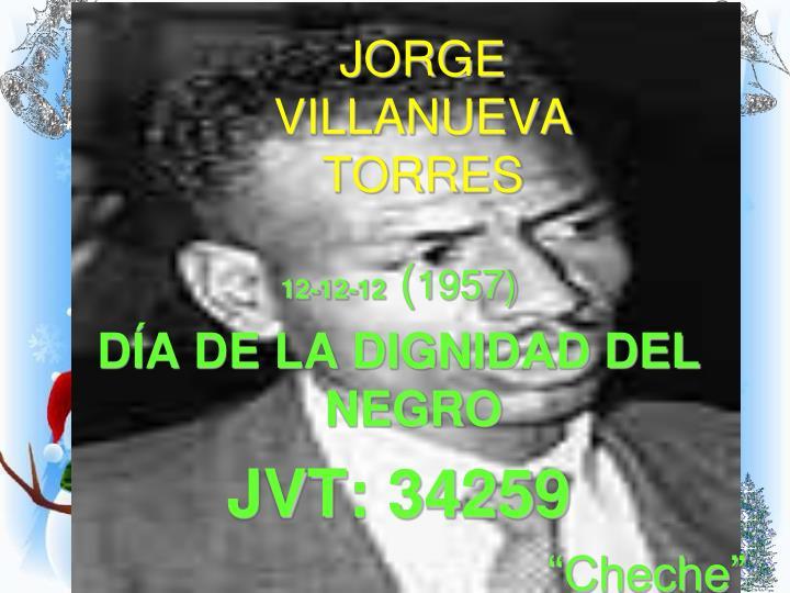 JORGE VILLANUEVA TORRES
