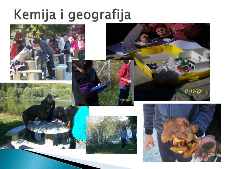 Kemija i geografija