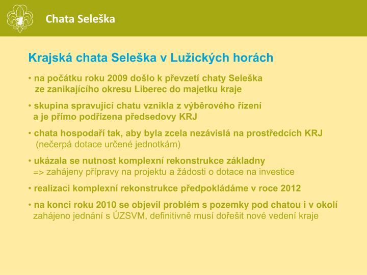 Chata Seleška