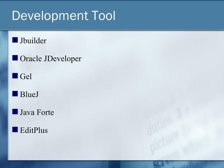 Development Tool